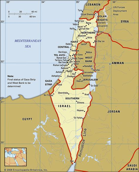 israel facts history map britannica