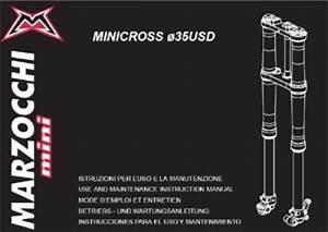 Ktm Marzocchi Mini Usd 35 Minicross Fork Instruction Manual