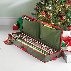 Buy Real Simple Holiday Gift Wrap Under Bed Wrapping