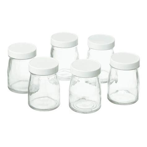 pots de yaourt en verre pots yaourt verre cuisinart verrines mises en bouche et ramequins de la table et jardin