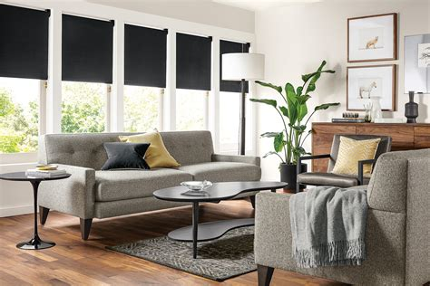 Why This Room Works: Sophisticated Living Room Room & Board