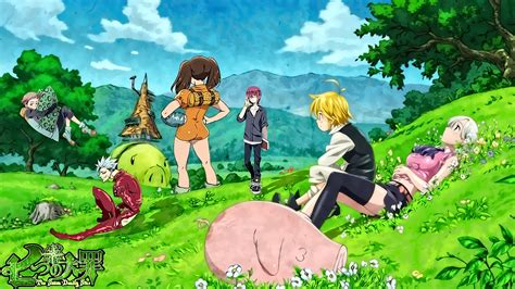 Seven Deadly Sins Wallpaper Anime - the seven deadly sins hd wallpaper background image