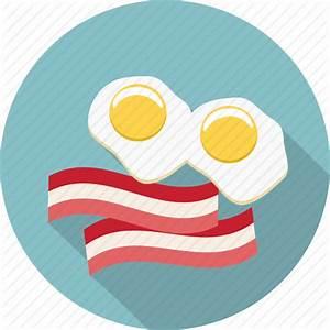 Bacon, double yolk, egg white, egg yolk, eggs, food, fried ...