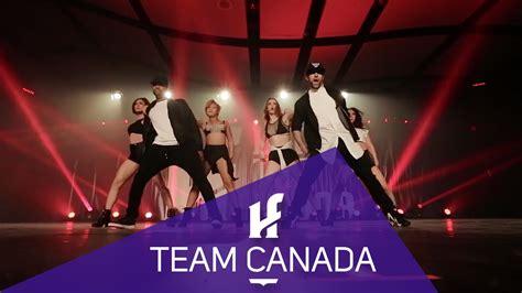 hit the floor canada team canada hit the floor gatineau htf2015 youtube