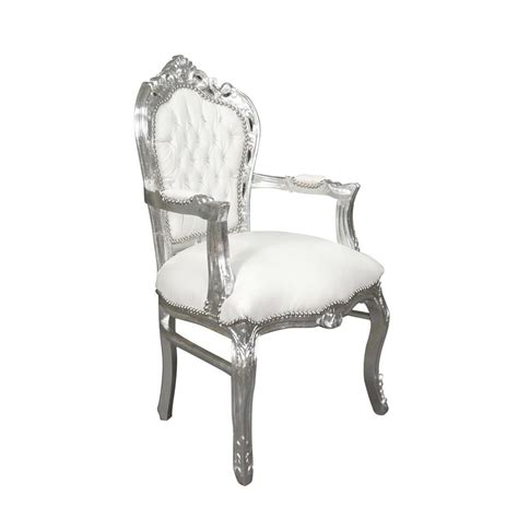 chaise baroque blanche chaise baroque blanche maison design wiblia com