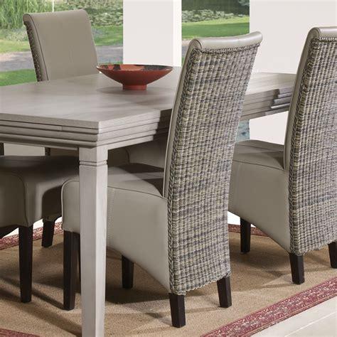chaise de salle a manger contemporaine chaise contemporaine en pu judith zd1 jpg