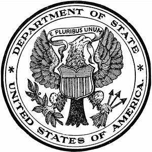 Seal of the State Department | ClipArt ETC