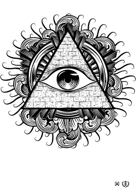 All Seeing Eye Vector Illustration | All seeing eye tattoo, Tattoos, Tattoo drawings