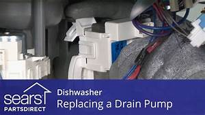 Replacing The Drain Pump On A Dishwasher