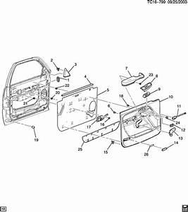 2003 Chevrolet Suburban Armrest  Armrest  Armrest  Frt S  D