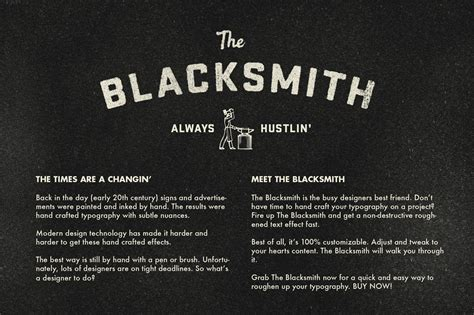 Morning America Resume Font by Retrosupply The Blacksmith Actions On Creative Market