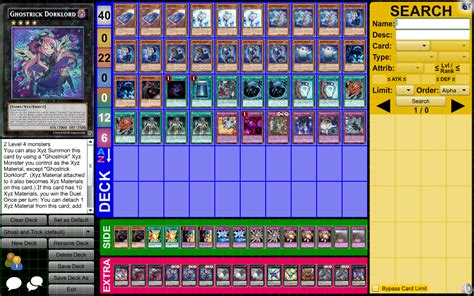 yugioh ghostrick deck profile competitive ghostrick april 2015 as much as they can be