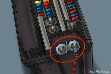 replace  cars fuse box yourmechanic advice