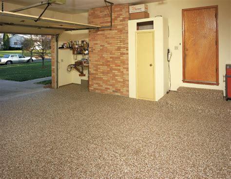 resurface pitted garage floor pebble tec flooring floor matttroy