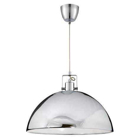 chrome pendant light searchlight 9140cc pendants 1 light polished chrome