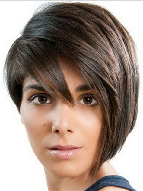 one side short haircut