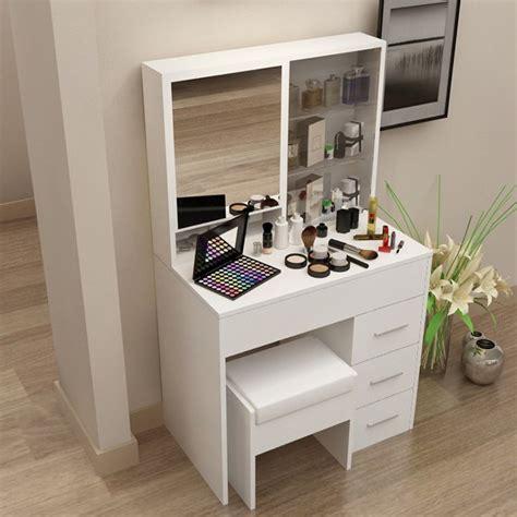 bureau maquillage coiffeuse moderne coréen simple avec un miroir de toilette