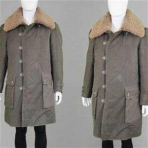 Vintage 40s Swedish Military Parka WW2 from ZeusVintage on
