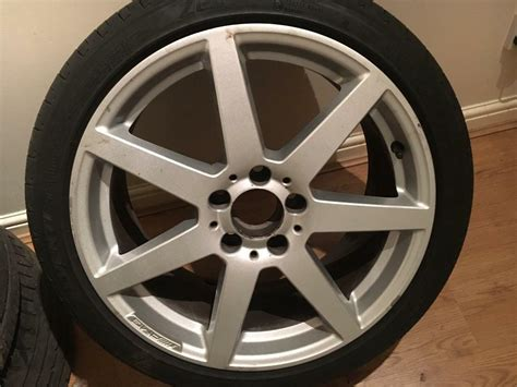 genuine mercedes benz  class   amg alloy wheels
