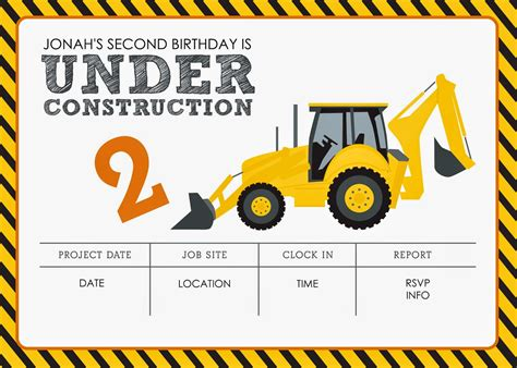 construction truck themed 1st birthday party planning ideas construction themed birthday party free printables