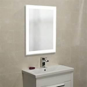 roper rhodes status designer illuminated bathroom mirror With bathroom morrors
