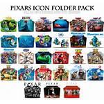 Pixar Folder Icon Pack Deviantart Icons Animated