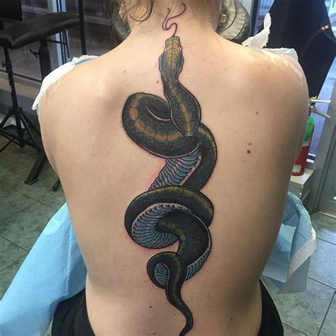 snake tattoo spine tattoo snake tattoo spine tattoos