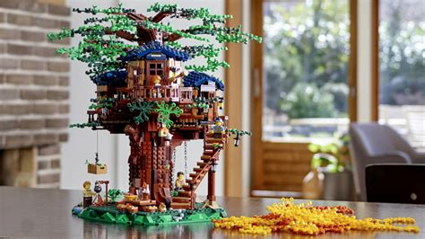 this new lego ideas tree house is lego s most sustainable