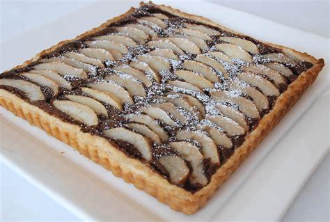 tarte poire chocolat pate feuilletee tarte poire chocolat pate feuilletee