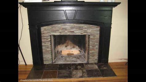 fireplace borders floor tile youtube