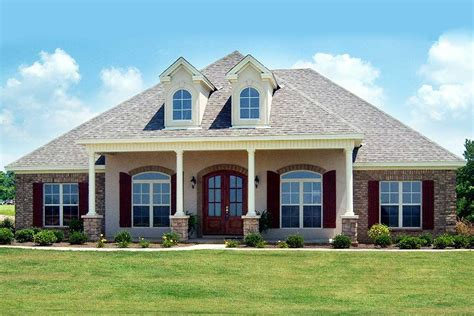 acadian house plan  bonus room hh