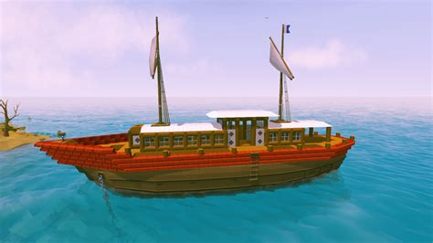 Small Boat Ylands by Wijkagentadrie S Content Page 14 Ylands Community Forums