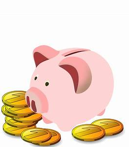 Free to Use & Public Domain Piggy Bank Clip Art