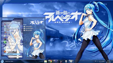 Ars Anime Wallpaper - anime skin theme win 7 aoki hagane no arpeggio ars