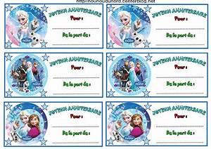 Joyeux Anniversaire Reine Des Neiges : etiquette anniversaire enfant qo44 jornalagora ~ Melissatoandfro.com Idées de Décoration
