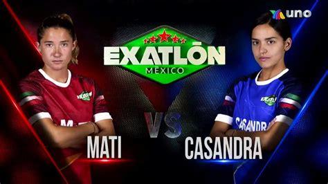 Exatlón Mx - #Exatlón   MATI VS CASANDRA DUELO 3   Facebook