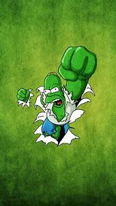 Funny Homer Simpsons Hulk HD Wallpapers for iPhone is a ...