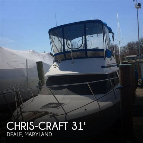 Chris Craft Boats For Sale In Maryland by For Sale Used 1988 Chris Craft 315 Commander In Deale