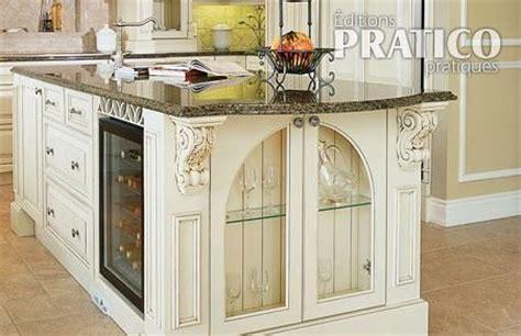armoires de cuisine qu饕ec la cuisine un classique cuisine inspirations décoration et rénovation pratico pratique