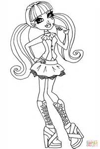 Monster High Halloween Coloring Pages Print. Monster. Best ...