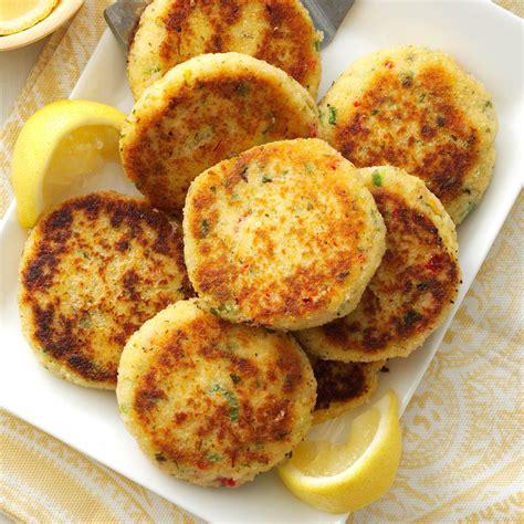 easy crab cakes recipe taste of home