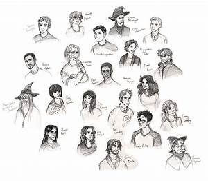 Harry Potter Characters (update) by Catching-Smoke on ...