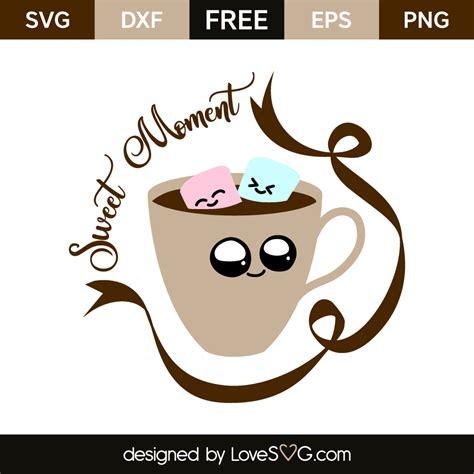 I was never a coffee drinker until we moved to minnesota! Sweet moment kawaii coffee | Lovesvg.com