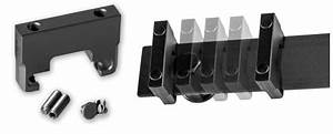 Barn door hardware kits from leatherneck for Barn door track stop