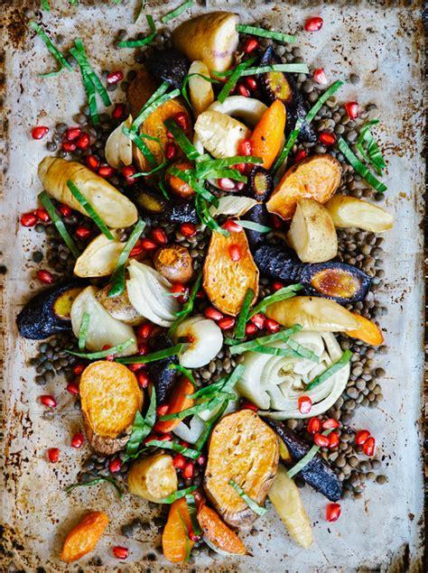 salade de lentilles  legumes dhiver rotis science