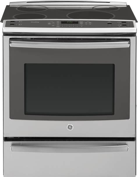 GE PHS920SFSS 30 Inch Slide In Induction Range with True