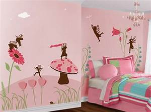 Kids bedroom wall painting ideas 5 small interior ideas for Childrens bedroom wall painting ideas