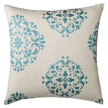 Formal Living Room Throw Pillows by Oversized Seville Toss Pillow Turquoise 24 Quot X24