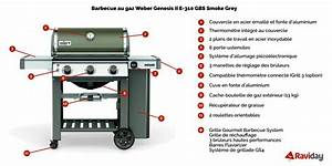 Barbecue Weber Genesis 2 : barbecue gaz weber genesis 2 e 310 gbs smoke grey raviday barbecue ~ Mglfilm.com Idées de Décoration