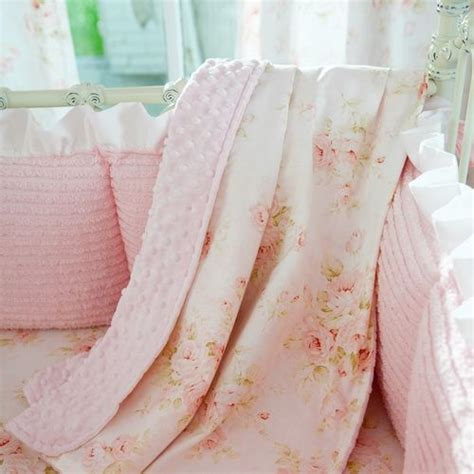 simply shabby chic baby blanket shabby chenille crib blanket carousel designs blanket and carousel